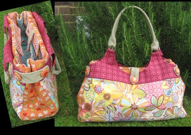 Bespoke Farmer Market / Holiday bag, by MoGirl DESIGNS.  June 2012