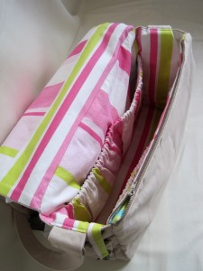 Inside The Essential baby Bag