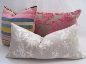 MoGirl DESIGNS Mixed Cushion Covers 004  DG OMBRIONE Pink, Lorca YACATAN Clarissa Hulse POTENTILLA