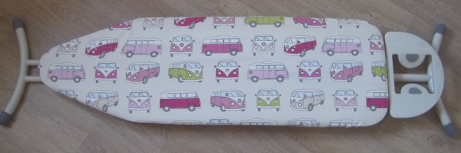 Pink Camper Van Ironing Board Cover!