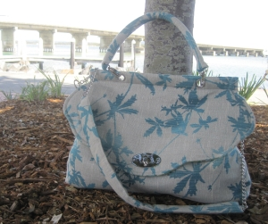 Over sized Fashionista Bag, by Maree, The mad seamstress's of MoGirl DESIGNS.