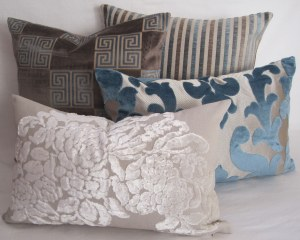 Just some of the cushion covers available at MoGirl DESIGNS