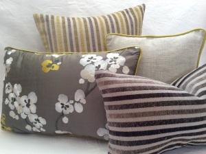 New cushions- November 2014